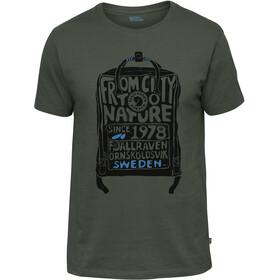 Fjällräven Kånken T-shirt Herrer, deep forest